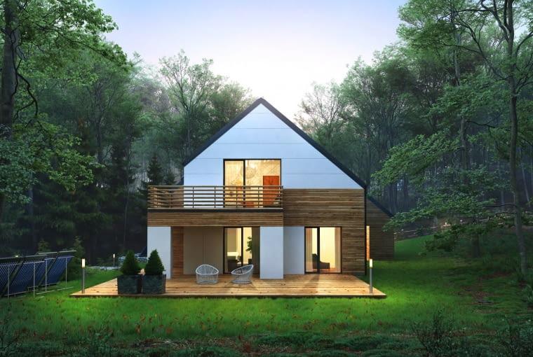 projekty domów jednorodzinnych, projekt gotowy