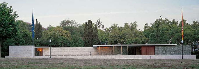 Mies van der Rohe award, mies van der rohe, barcelona, pawilon, modernizm