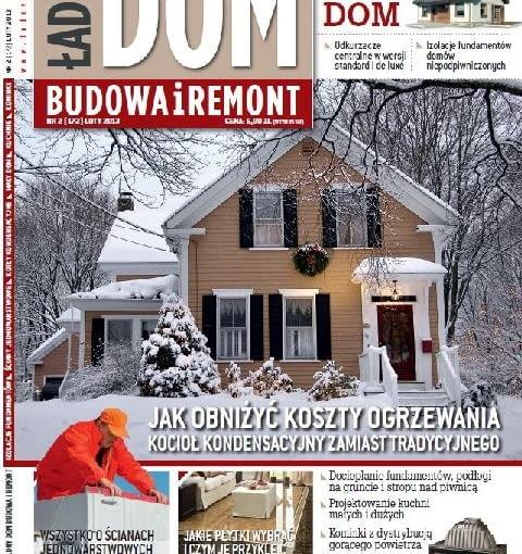 Okładka miesięcznika Ładny Dom 02/2013