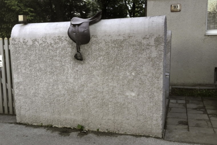 """High horse"", Wels, Austria 2014"