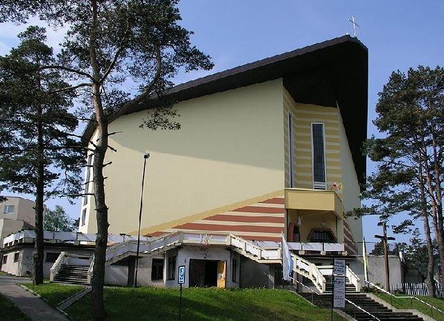 Kosciół pw. św. Ignacego Loyoli w Jastrzebiej Górze