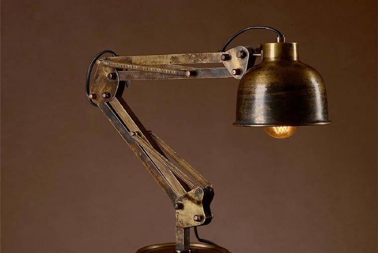 Lampa GAMMA, metal, 68 x 15 cm, 820 zł, almidecor.com