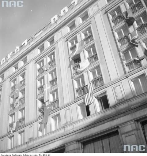 Socrealizm - architektura socrealistyczna - MDM - Marszałkowska Dzielnica Mieszkaniowa Warszawa