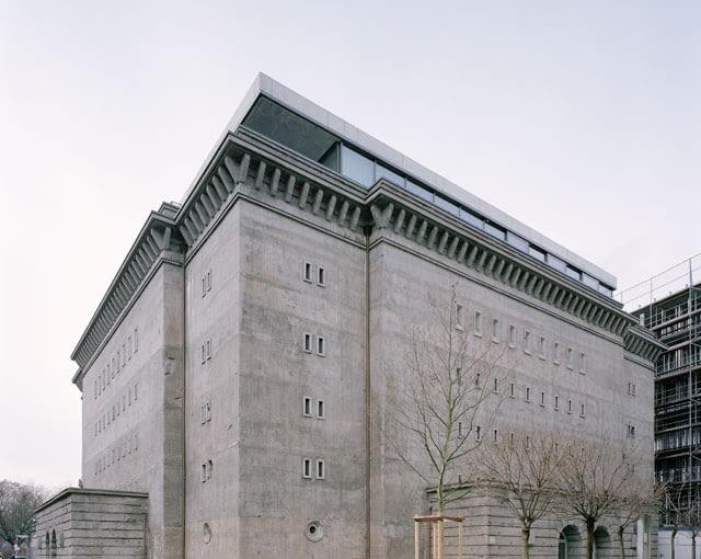realarchitektur, berlin, beton, bunkier
