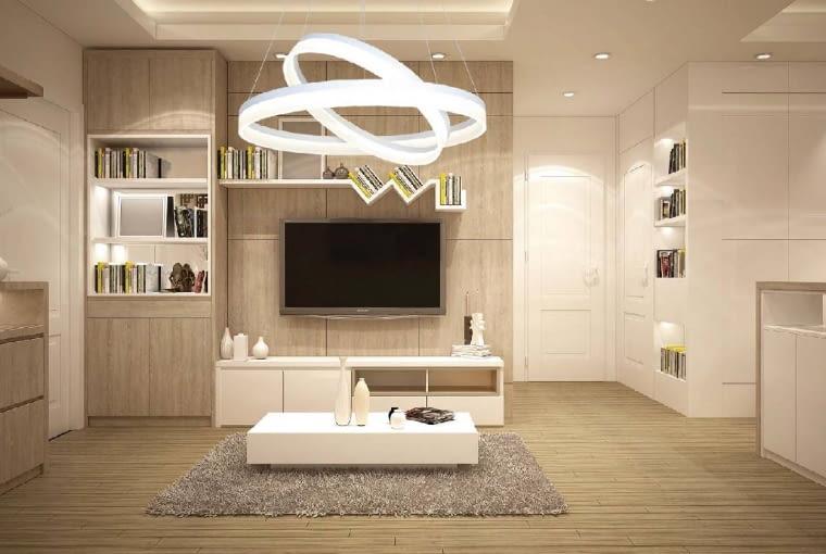 Lampy z rodziny Ring z firmy Milagro to dowód na to, jak dobre rezultaty można osiągnąć, sięgając po proste rozwiązania. Wykonane z metalu i akrylu koła zawieszone na linkach dają spektakularny efekt.