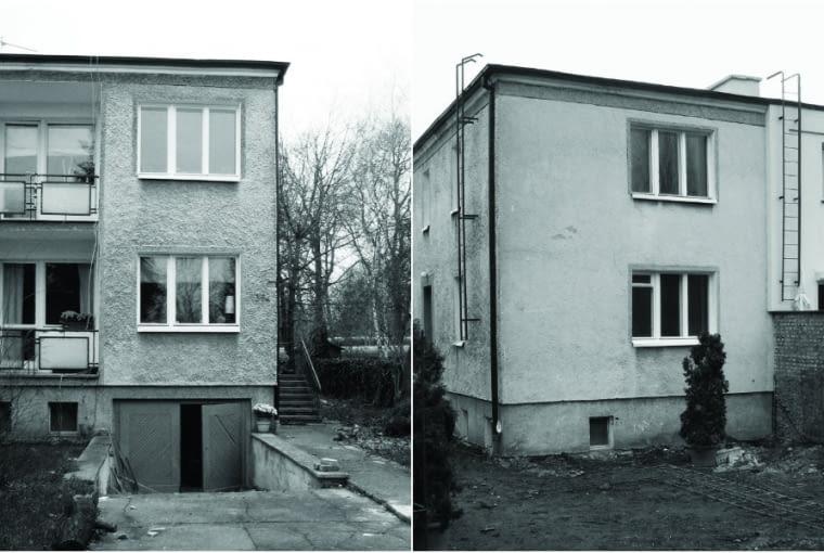 """Pierwotnie dom był typową """"kostką"""". Sześcian o regularnie ułożonych oknach i balkonach oraz typowym dla czasów, gdy powstawał, chropowatym tynku sprawiał nie najlepsze wrażenie, bo przypominał okres, o którym większość Polaków chciałaby zapomnieć"""