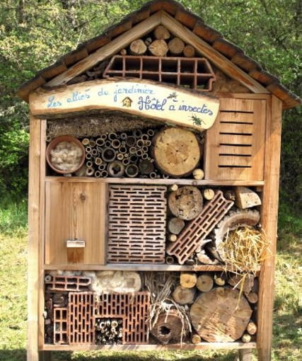 Breeding cage to insect in the center of ecology France - Terre Vivante Center at Mens - -