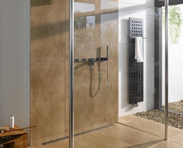 walk-in, kabina prysznicowa, odpływ liniowy