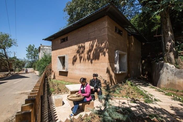 Dom w wiosce Guangming, źródło zdjęcia: mat. pras. 2018 RIBA International Prize, www.architecture.com