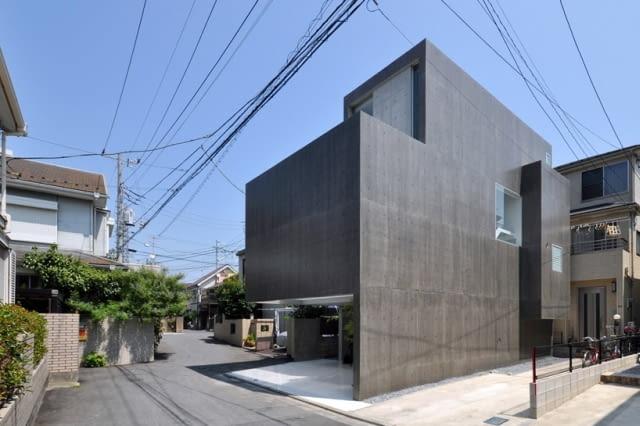 Shigeru Fuse dom w Funabashi