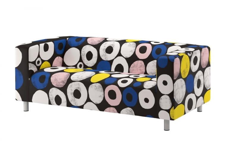 KLIPPAN, bawełna, 180 x 66 cm, wys. 88 cm, 649 zł, IKEA