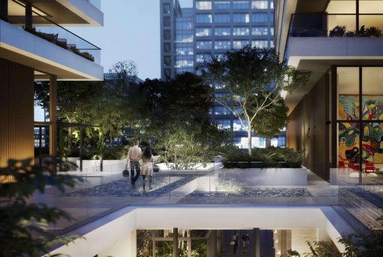 Wardian London, Londyn, Wielka Brytania, proj. Glenn Howells Architects, nominacja w kategorii projekty, budynki mieszkalne.