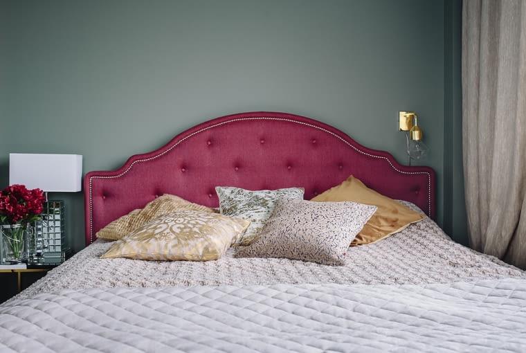 Od stylu rustykalnego do glamour - metamorfoza sypialni blogerki wnętrzarskiej