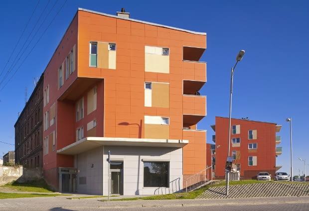 Osiedle mieszkaniowe przy ul. Szczęść Boże w Rudzie Śląskiej