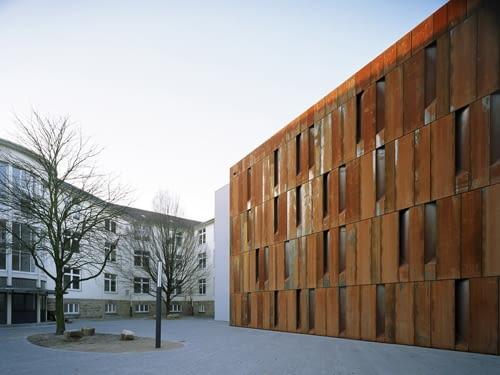 Archiwum miejskie, Essen, Niemcy, 2010, proj. Scheidt Kasprusch