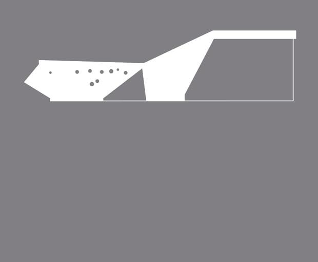Muzeum lotnictwa Polskiego, Kraków - Pysall.Ruge Architekten. Więcej o projekcie przeczytasz <a href=http://www.bryla.pl/bryla/1,85301,10615508,Mamy_najlepszy_betonowy_budynek_na_swiecie_.html>TUTAJ</a>
