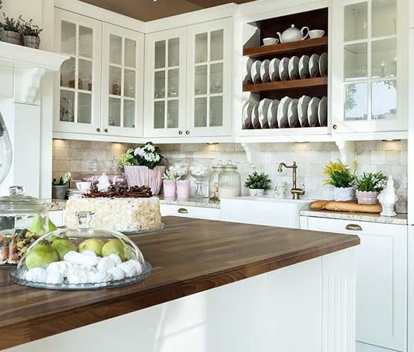 kuchnia, kuchnia z wyspą, meble kuchenne