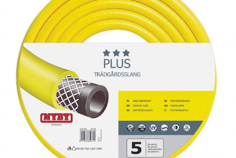 Wąż ogrodowy Plus/JULA | Średnica 1/2 cala | długość 25 m. Cena: 59,99 zł, www.jula.pl