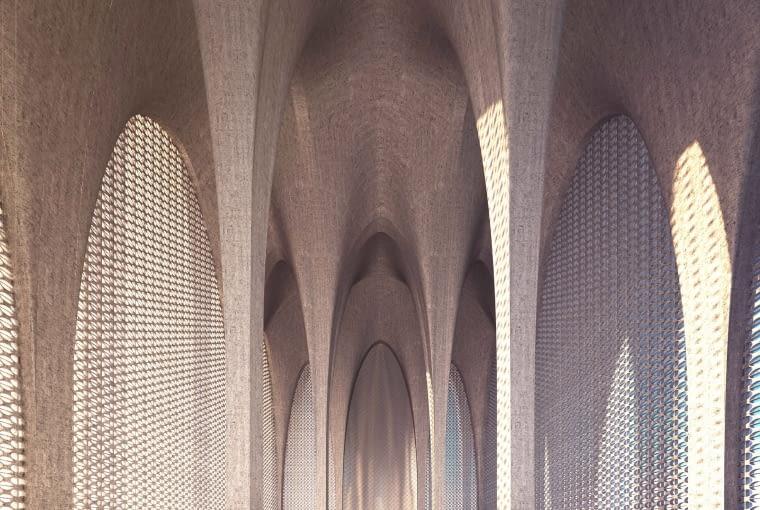 Dom Abrahama w Abu Zabi - meczet. Proj. Adjaye Associates