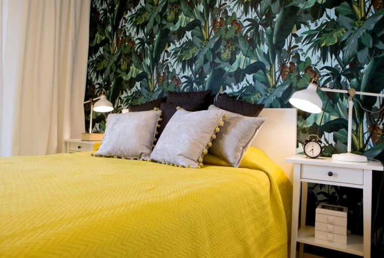 Kolorowe mieszkanie inspirowane południowymi klimatami