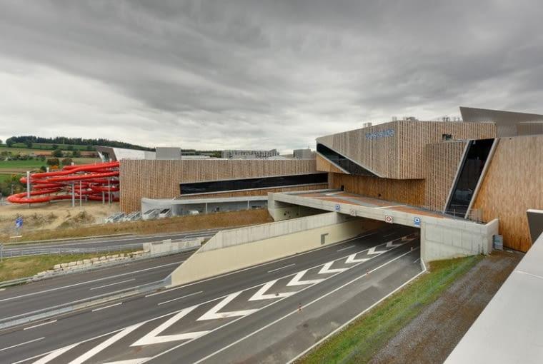 Zurbanizowane centrum wypoczynkowo-handlowe Westside, Studio Daniel Libeskind, Berno, Szwajcaria, 2008