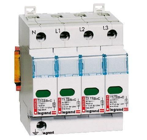domowa instalacja elektryczna, prąd, ochronnik przepięć