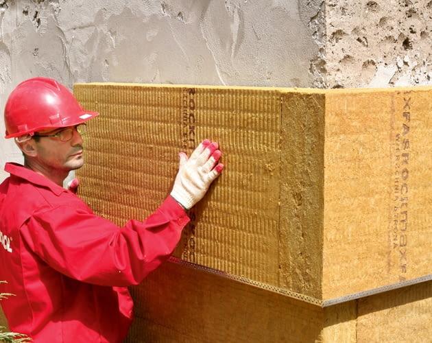 ocieplenie ścian, izolacja termiczna, wełna mineralna