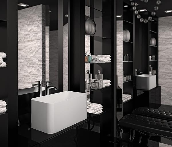 Polski Projekt Kolekcja Wyposażenia łazienek Marmorin By
