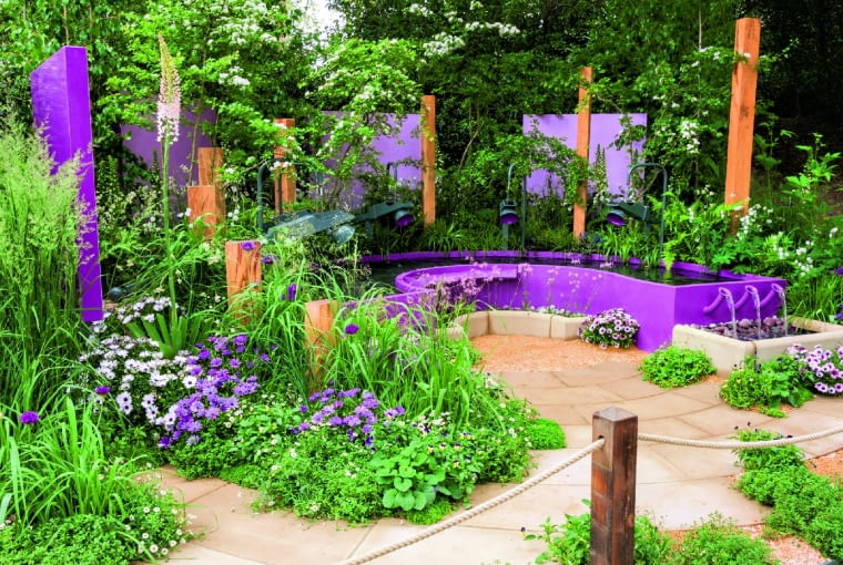 zPapworth Trust Together We Can.Designed by Peter Eustance. Sponsored by:Papworth Trust. RHS Chelsea Flower Show 2016.