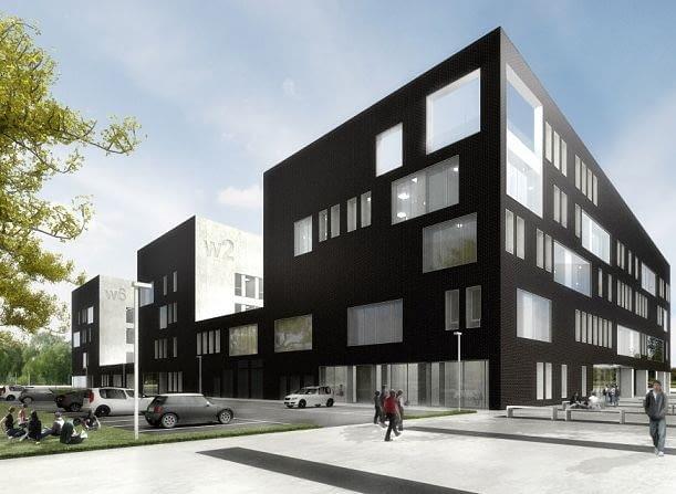 Kompleks edukacyjno-badawczy Geocentrum we Wrocławiu, proj. Kuryłowicz