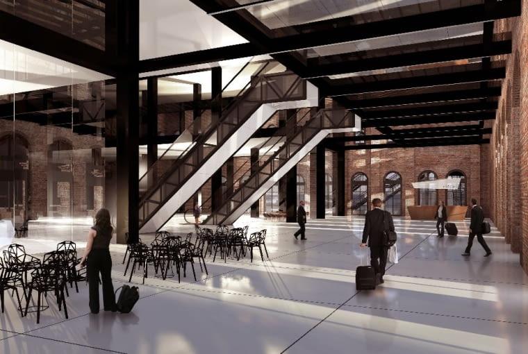 Koncepcja przebudowy starego dworca w Poznaniu