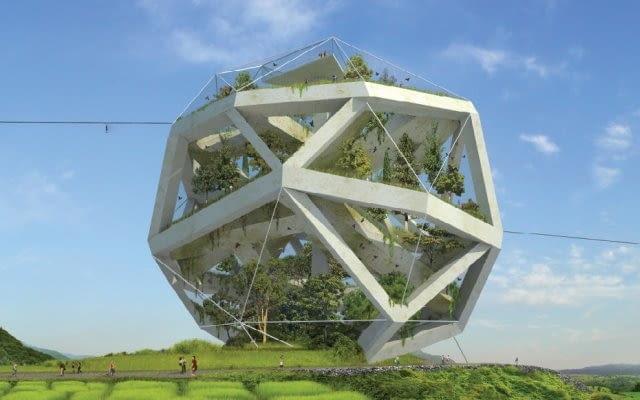 Ekologiczne ZOO, wyspa Dochodo, Południowa Korea, proj. JDS Architects