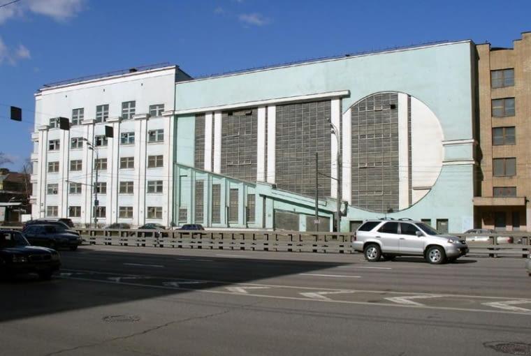 Zakład mechaniczny w Moskwie, proj. Konstantin Mielnikow