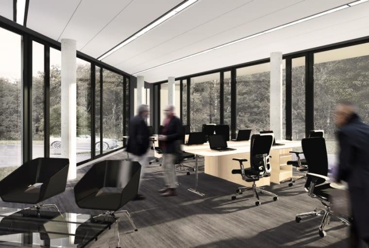Biurowiec Quartz-Office w Poznaniu - wizualizacja