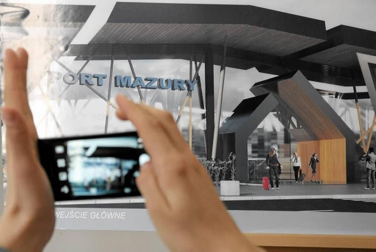 30.04.2013 Olsztyn . Rozstrzygniecie architektonicznego konkursu na projek portu lotniczego w Szymanach . Fot . Robert Robaszewski / Agencja Gazeta SLOWA KLUCZOWE: port lotniczy Szymany projekt architektura samoloty ladowisko