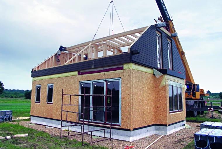 domy prefabrykowane, budowa domu,