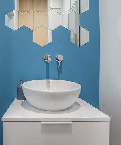 Aranżacja łazienki, lustro do łazienki
