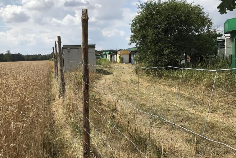 Cmentarzysko Kiosków RUCHU pod Łodzią.