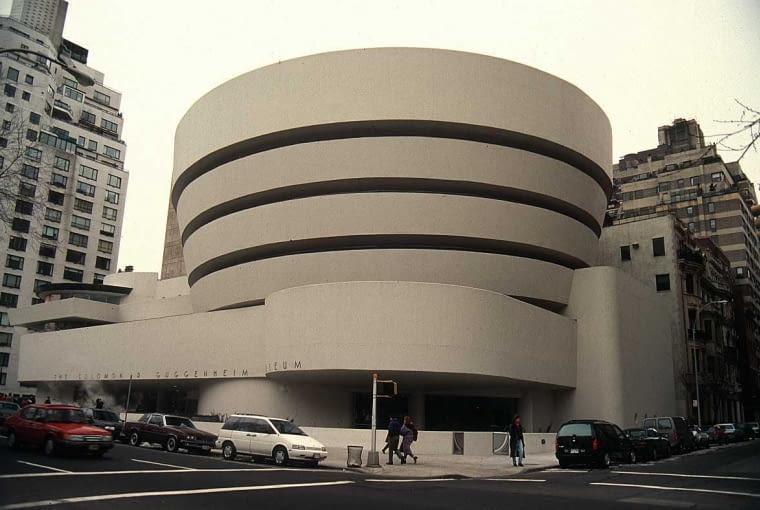 Solomon R. Guggenheim Museum, proj. Frank Lloyd Wright