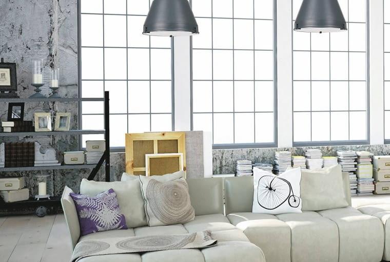 styl loftowy, wnętrza loftowe, wnętrza w stylu loftowym, meble do wnętrz loftowych