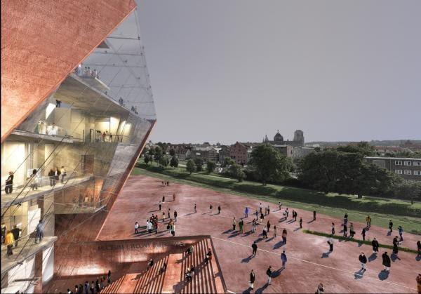 I Nagroda 80.000 Euro - praca nr 117- numer identyfikacyjny 84171358 - Studio Architektoniczne 'Kwadrat' z Gdyni, Polska.