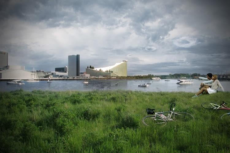 Przyjazna środowisku elektrownia połączona ze stokiem narciarskim - nowa propozycja dla Kopenhagi od Bjarke Ingels Group