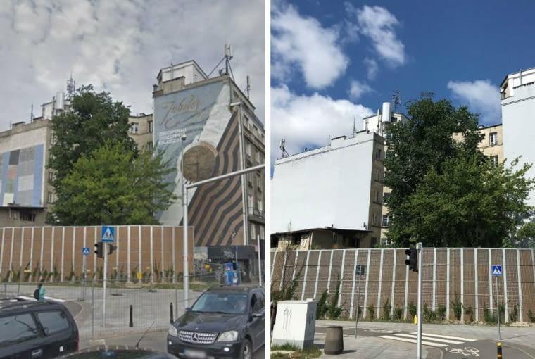 Zamalowali Prl Owskie Murale Na Targowej Reklamy Fotonu I Jubilera