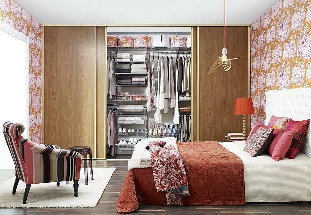 garderoba, sypialnia