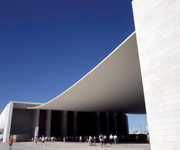 Pawilon portugalski na wystawę EXPO 1998 w Lizbonie