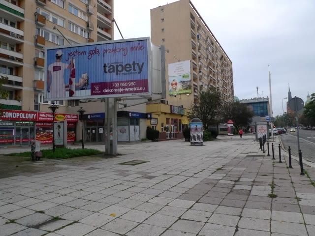 Nie tylko przestrzeń wymaga rewitalizacji w Alei Wojska Polskiego, fot. anna cymer