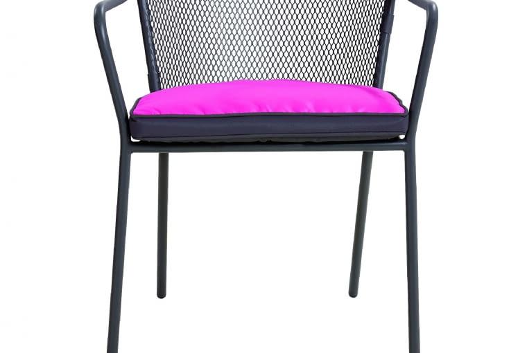 COBURG, fotel, metal 128 zł Castorama