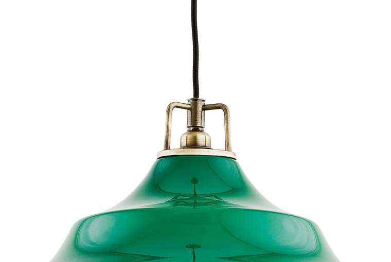 Lampa wisząca, metal iszkło Leroy Merlin