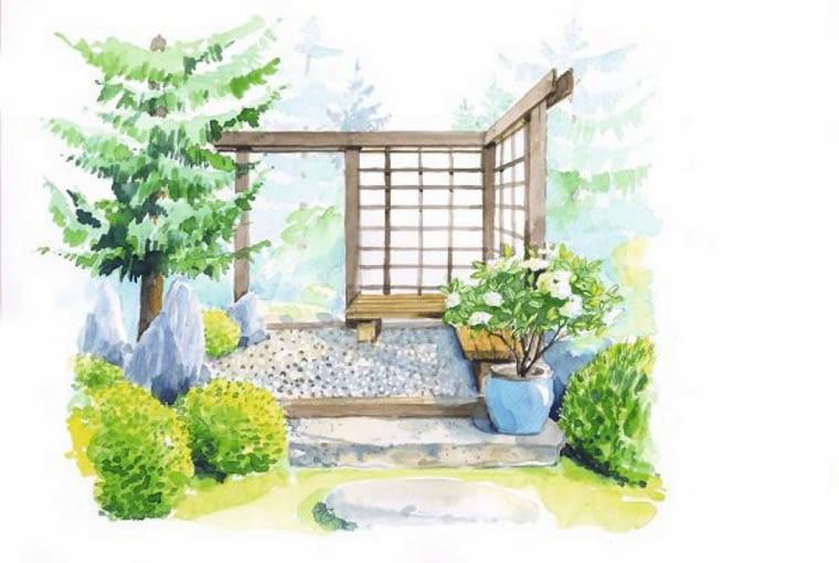 Altana w japońskim stylu