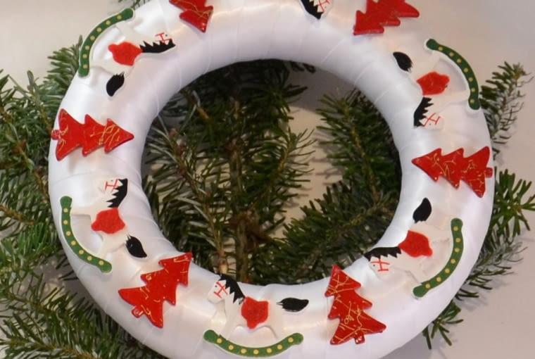 wianek świąteczny, dekoracje świąteczne, Boże Narodzenie